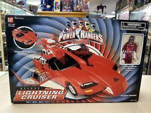 Rare Power Rangers Turbo: Deluxe Lightning Cruiser (1997) Bandai New
