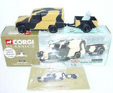 Corgi Classics 1:43 British Army LAND ROVER & TRAILER 1st Battalion Set MIB`98