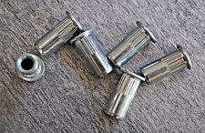50 St Gewindenieten M4 Stahl ab 0,5mm Blindnietmutter Einnietmutter Nietmuttern