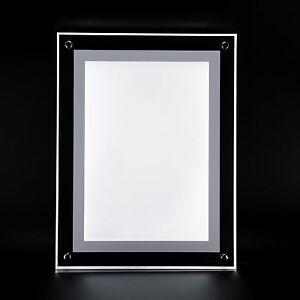 Bilderrahmen LED 5W Acrylglas Bildelampe Wand  Bilderleuchte LED DIN A4 360504