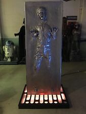 Life Size Star Wars Han Solo Frozen In Carbonite Full Size Prop Statue