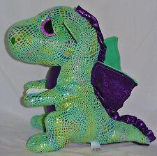 "New! Ty Beanie Boos CINDER the dragon Medium Buddy 9""size"