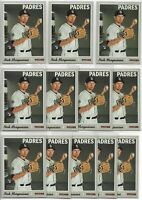2019 Topps Heritage High Number Nick Margevicius (12) Card Rookie Lot #625 RC