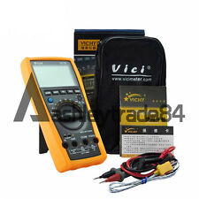 Vici VC99 3 6/7 Auto range digital multimeter DMM with bag lead New