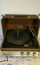 Vintage Zenith Solid State Suitcase Type Record Player Phonograph Model B545W