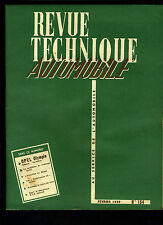 (C17) REVUE TECHNIQUE AUTOMOBILE OPEL OLYMPIA Rekord CarAVan / Américaines 1959