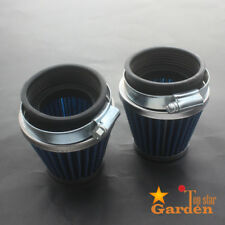 2x 53mm 55mm Air Filter Pod 54mm for Kawasaki Honda Motorcycle 79-82 CB750 CB900