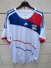 Maillot LYON OL Olympique Lyonnais ADIDAS sans sponsor supporter collection XL