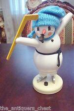 "Zeidler made in Germany smoker ""Ice Jockey Snowman Player"", smoker"