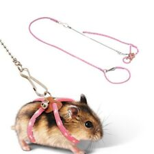 Harness Lead Leash For Pet Small Animal Rabbit Ferret Hamster Squirrel Rat