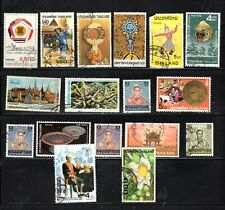 New listing Thailand Siam Asia Stamps Canceled Used Lot 17249