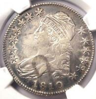 1810 Capped Bust Half Dollar 50C - Certified NGC XF Details (EF) - Rare Date