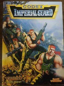Warhammer 40k Imperial Guard Codex 2nd Edition Vintage 1995