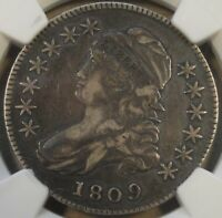1809 Capped Bust Half Dollar 50c O-106 NGC Certified VF30