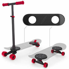 MorfBoard Skate And Scoot Combo Set 2 in 1 Kick Scooter Skateboard