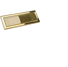Perlick Brass 58979TF Tarnish Free  Drainer Drip Pan recessed mount