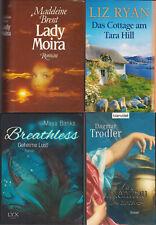 4 verschiedene Liebesromane