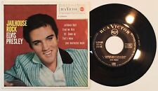 ELVIS PRESLEY – Jailhouse Rock - EP Spain N.MINT* 1962 RCA 3-20448 All Shook Up