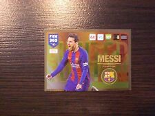 PANINI FIFA 365 ADRENALYN XL 2017 UPDATE LIMITED EDITION UELE7.  Lionel Messi (F