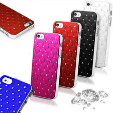 Bling Diamante duro caso cubierta trasera para Apple iPhone 5 6 6 Plus Galaxy Note 4