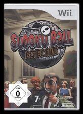 Nintendo Wii-SUDOKU-BALL DETECTIVE *** NUOVO ***