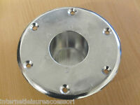 Table Leg Recessed Base - Caravan / Motorhome / HorseBox / Camper Conversion