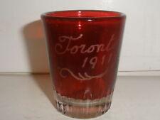 ANTIQUE TORONTO FAIR 1911 CANADIAN EXHIBITION GLASS