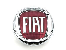Echt New FIAT BOOT BADGE Tailgate Red Emblem For 500 2007+ Multijet JTD Hatch