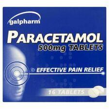 Galpharm Paracetamol Pain Relief 500mg, 16 Caplets