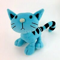 Vintage 90s Pilchard the Cat from Bob the Builder Soft Plush Toy