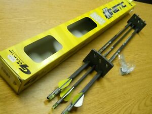 "NIP 6 Gold Tip Kinetic Hunter Carbon Arrows 400 spine 32"" Uncut W/ Inserts Box"
