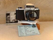 "IHAGEE Dresde-EXAKTA VX 500 Meyer-Optik 2.8/50mm ""Pièce de collection"" - TOP!"
