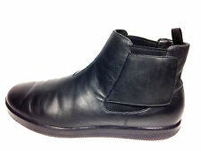 Prada Luxury Authentic Ankle-Boot  Shoe 4T2437 Black Size 10 US.