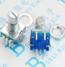 1pcs Rotary Encoder With Switch Ec11 Audio Digital Potentiometer 15mm Handle