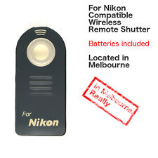 IR Wireless Shutter Remote Control Controller for Nikon DSLR Camera ML-L3
