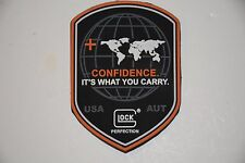 GLOCK CONFIDENCE FACTORY LOGO PATCH 17 19 20 21 22 23 24 26 27 28 29 30 31 42 43
