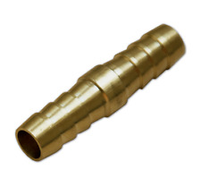 Schlauchverbinder Messing gerade 12,5 mm