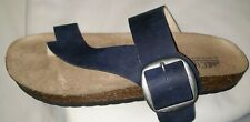 NEW WOMENS Slip On toe Sandals Glennis Cliffs by White Mountain  Navy  Size 11 M