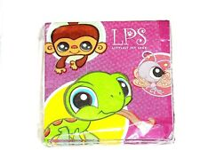 LITTLEST PET SHOP ~16-PAPER DESSERT NAPKINS-    PARTY SUPPLIES