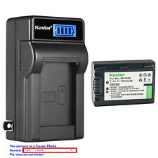 Kastar Battery AC Wall Charger for Sony NP-FH50 DSLR-A330L DSLR-A330Y DSLR-A380