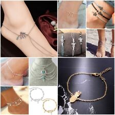 Pearl Leaf Turtle Fashion Ankle Bracelet Women Anklet Foot Jewelry Chain Beach