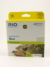 RIO MAINSTREAM BASS FLY LINE, 6WT,  Yellow