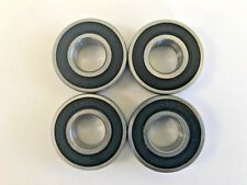 4 pcs 6204 2RS double rubber sealed ball bearing, 20x 47x 14 mm