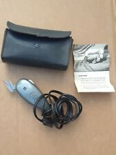 """Vintage """"Trim"""" Electric Scissors including instructions and case"""