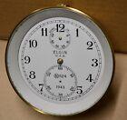 1943 Old Stock ELGIN Model 600 Marine Chronometer Case Incomplete Movement N524