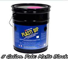 Plasti Dip Matte Black 5 Gallon Pale Bucket Ready to Spray Rubber Dip Spray
