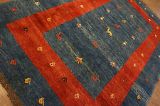 125-Wunderschöner Original Persischer Gabbeh,283x197 cm²,Carpet,Teppich,Tappeto