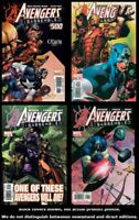 Avengers, The 500 501 502 503  Chaos 1-4 Disassembled Complete Set Run VF/NM
