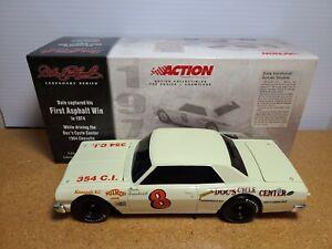 1974 Dale Earnhardt Sr #8 1st Asphalt Win 1964 Chevelle BWB 1:24 NASCAR Action