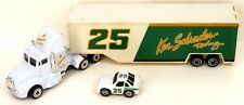 "Racing Champions NASCAR Semi Truck #25 Ken Schrader Toy 7"" Long w/Micro Stockcar"